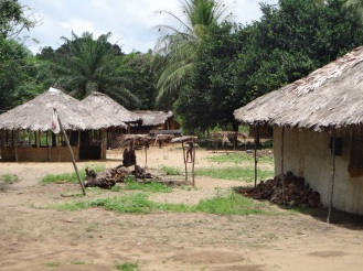 Typical local village that the clinic serves