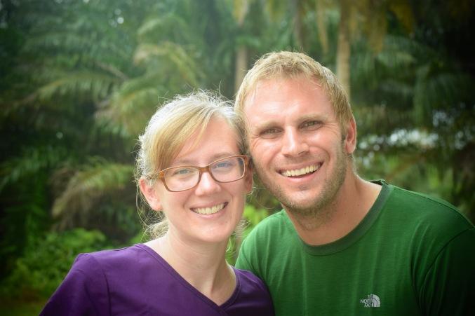 Jen and Steve in Po