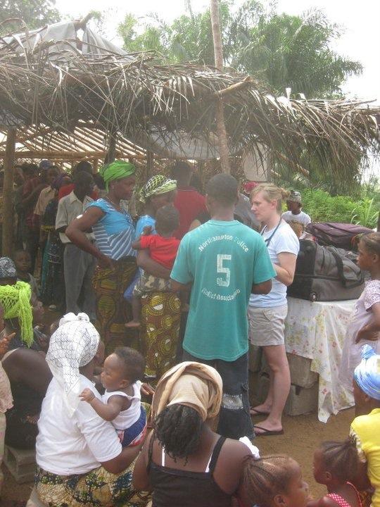 Jen in Liberia